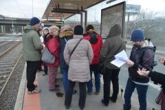 Sraz na tramvajové zastávce Motol